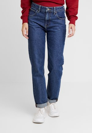 MOM STRAIGHT - Straight leg jeans - mid shade