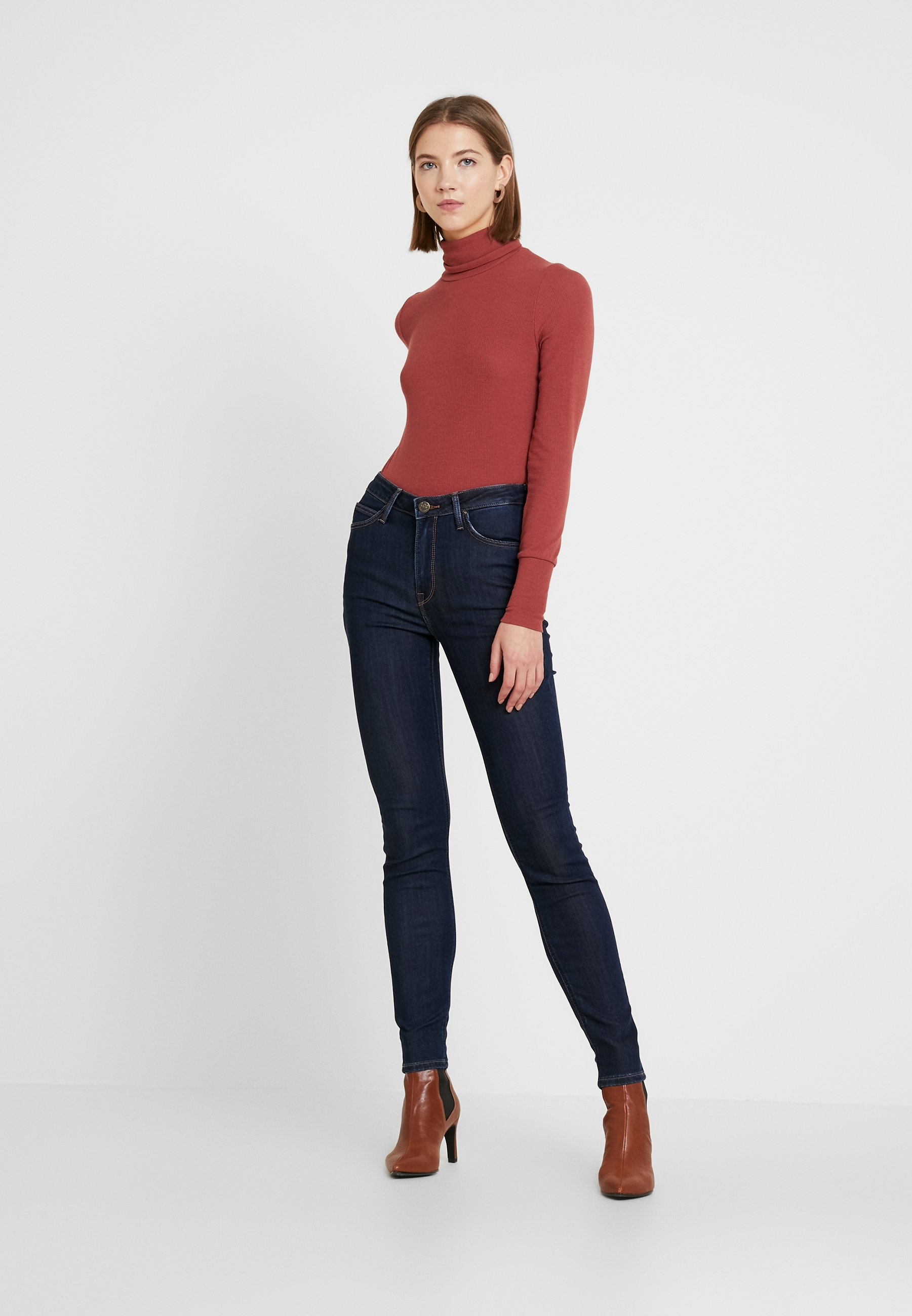 Lee Scarlett High - Jeans Skinny Fit Tonal Stonewash