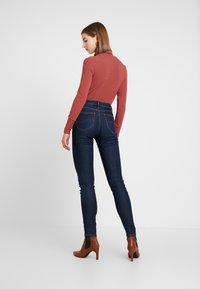 Lee - SCARLETT HIGH - Jeans Skinny Fit - tonal stonewash - 2