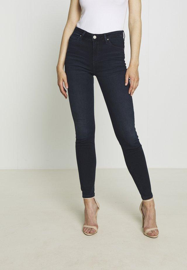 SCARLETT HIGH - Skinny džíny - worn ebony