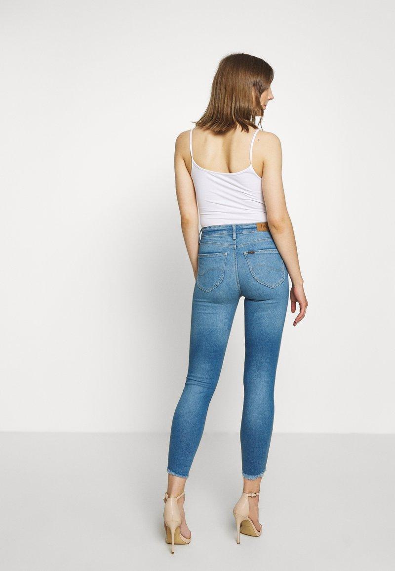 Lee - SCARLETT HIGH - Jeans Skinny Fit - daryl raw
