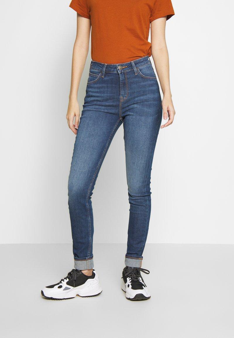 Lee - IVY - Jeans Skinny Fit - dark ely