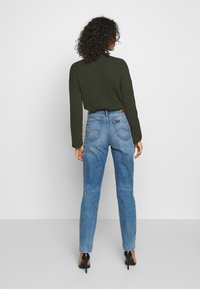 Lee - MOM  - Jeans straight leg - worn in luther - 2