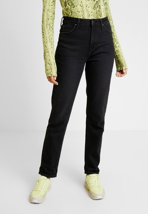 MOM  - Jeans straight leg - black worn