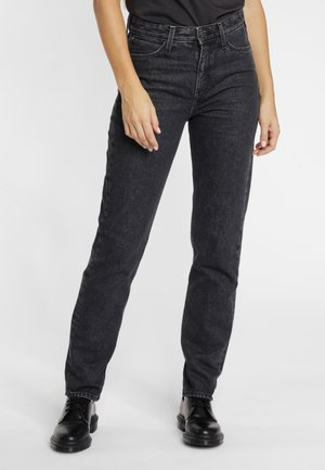 MOM  - Straight leg jeans - scarbro black