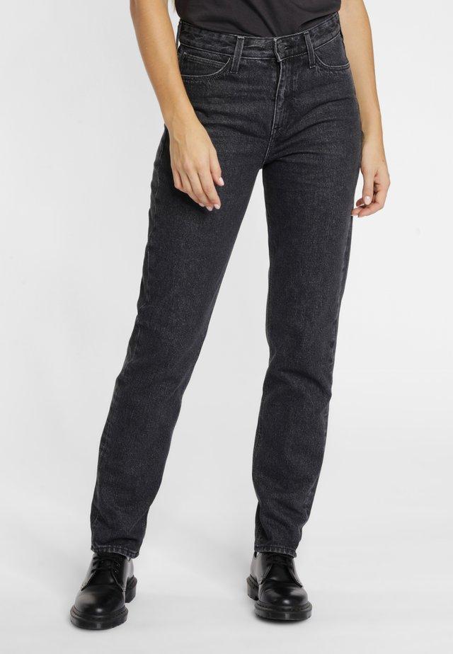 MOM  - Jeans straight leg - scarbro black