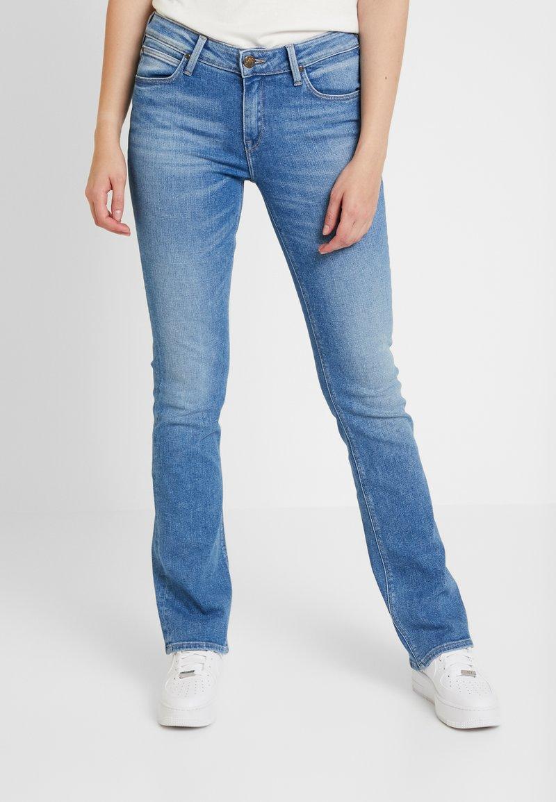 Lee - HOXIE - Jeans bootcut - jaded