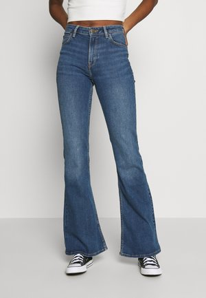 BREESE - Flared Jeans - mid vermont