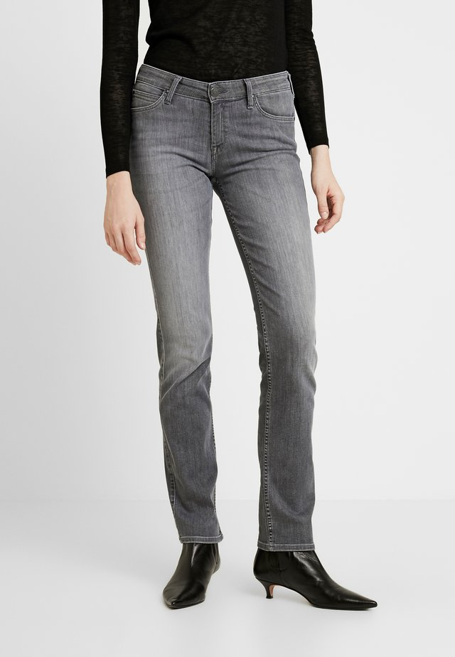 MARION STRAIGHT - Džíny Straight Fit - grey denim