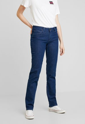 MARION STRAIGHT - Jeans a sigaretta - rinsed denim