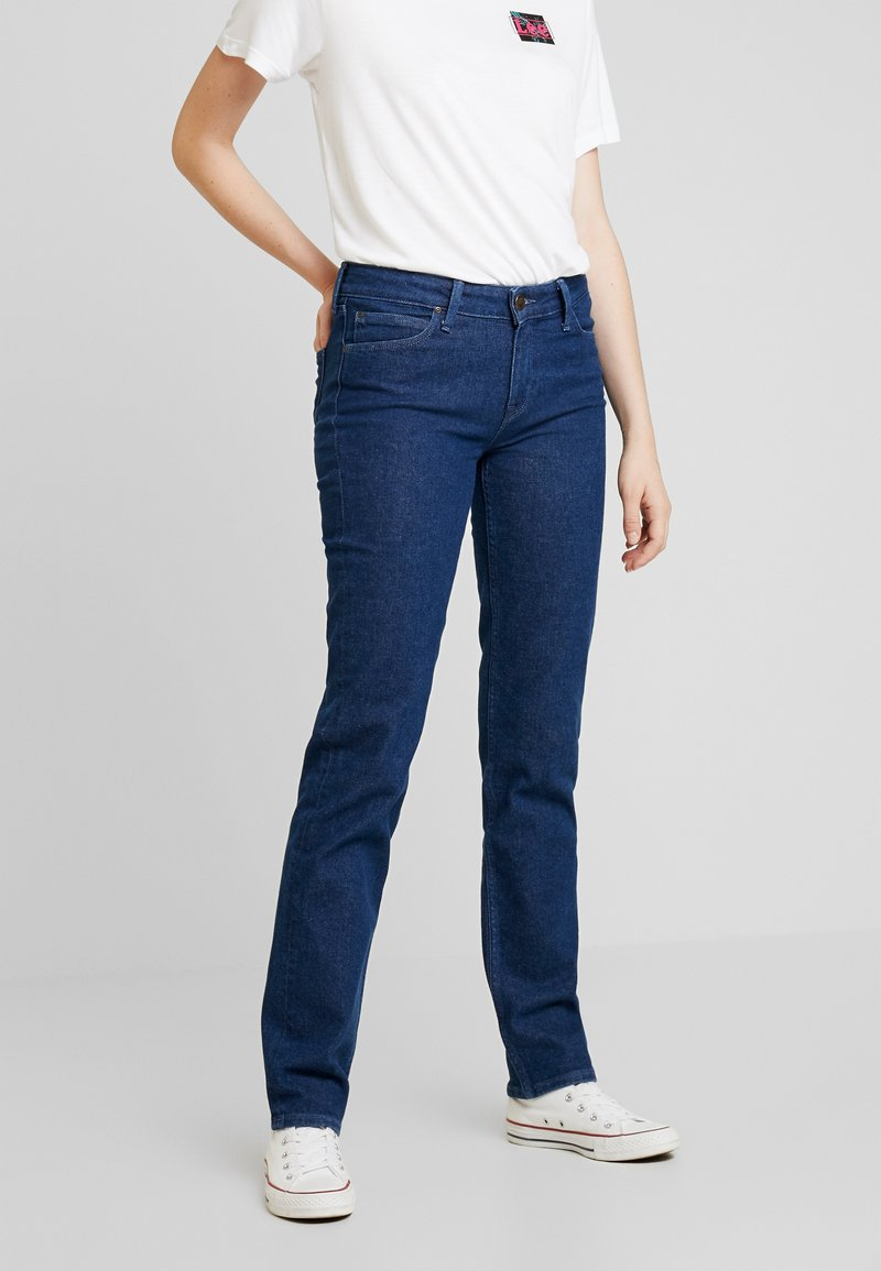 Lee - MARION STRAIGHT - Jeans Straight Leg - rinsed denim