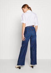 Lee - A LINE - Flared Jeans - dark garner - 2