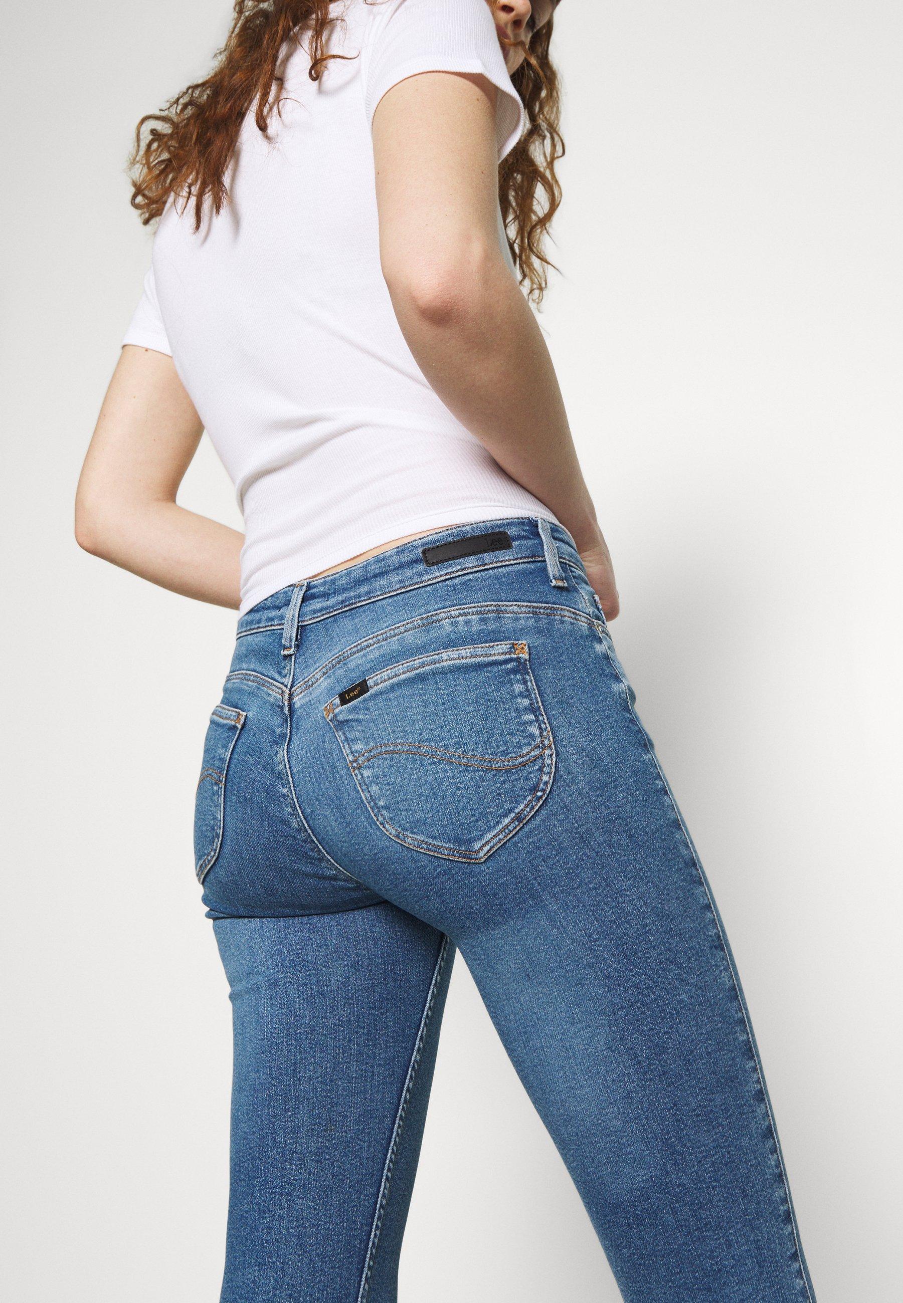Lee Scarlett Body Optix - Jeans Skinny Fit Alabama Dawn iQUUx