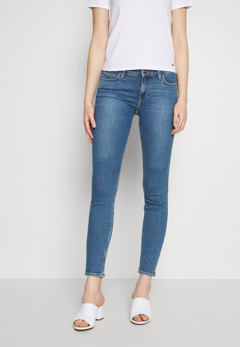 Lee - SCARLETT BODY OPTIX - Jeansy Skinny Fit - alabama dawn