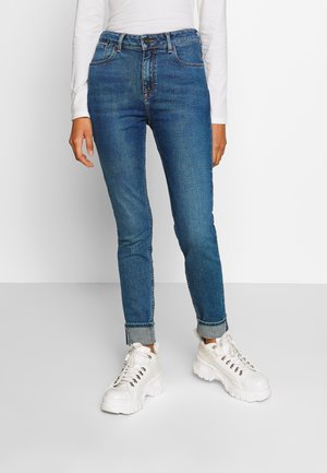 SCARLETT HIGH - Jeans Skinny Fit - mid vesta