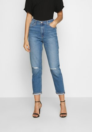 CAROL - Jeans straight leg - light mesa