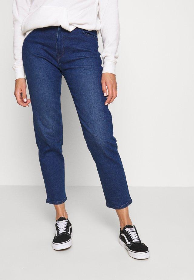 CAROL - Jeans straight leg - dark worn
