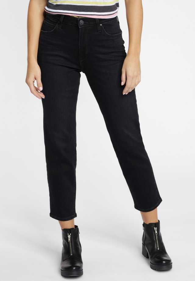 CAROL - Straight leg jeans - black worn