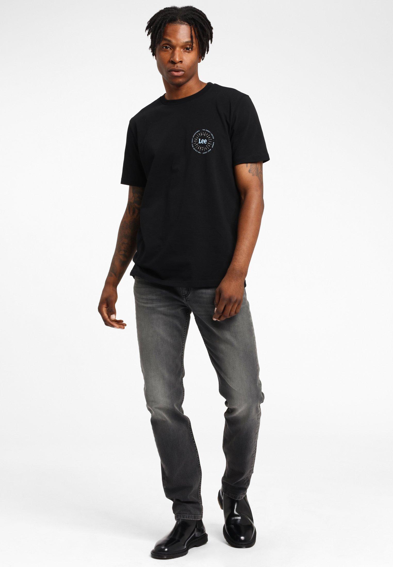 Lee RIDER - Jeans slim fit - moto worn in