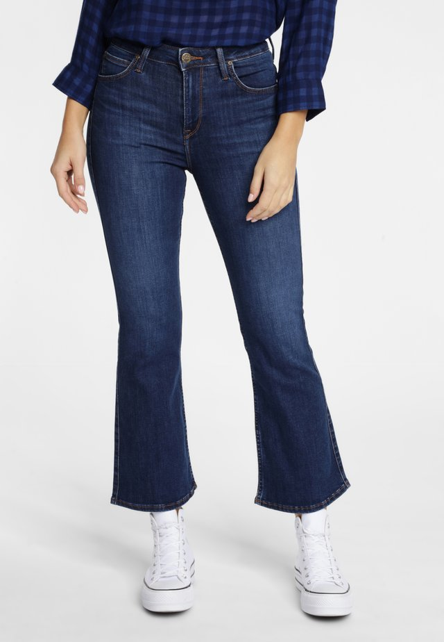 BREESE - Flared Jeans - dark blue