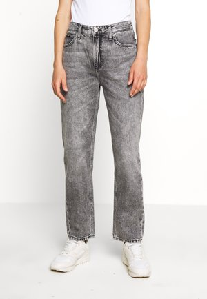 CAROL - Straight leg jeans - grey sarandon