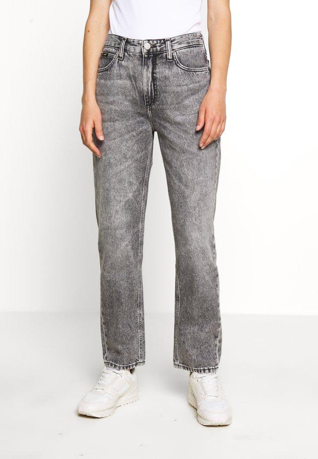 CAROL - Džíny Straight Fit - grey sarandon