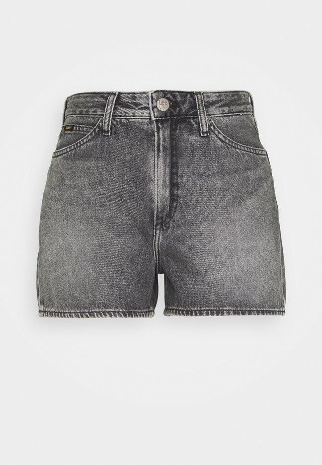 THELMA - Jeans Shorts - grey sarandon
