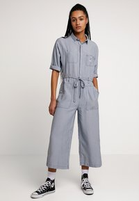 Lee - WIDE LEG - Jumpsuit - dipped blue