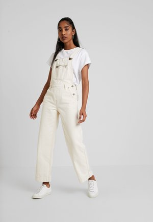 WIDE BIB - Tuinbroek - off white