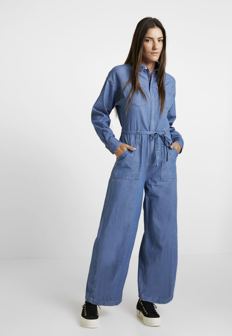 Lee - WHIZ IT COVERALL - Mono - frost blue