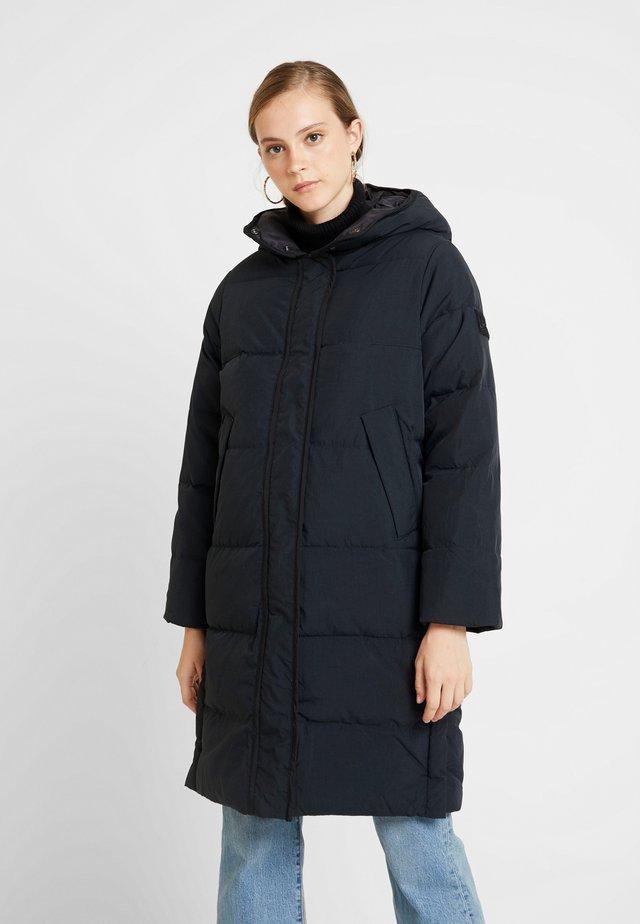 LONG PUFFER - Zimní kabát - black