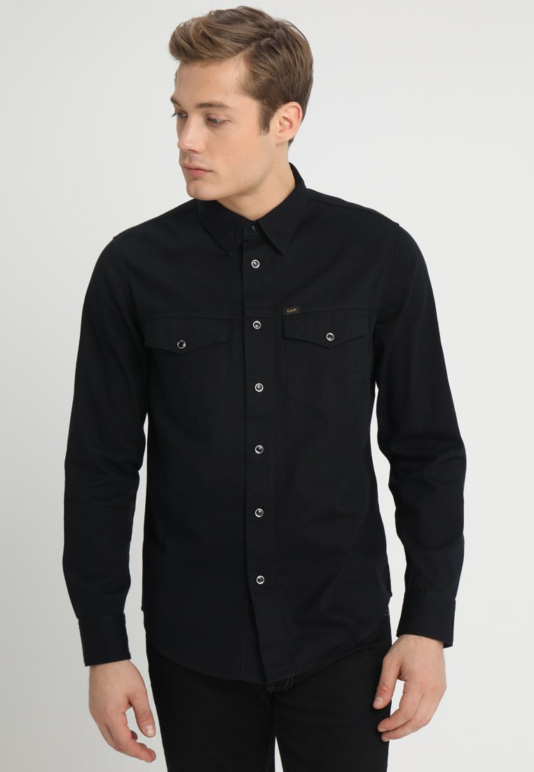 Lee - WORKER WESTERN - Skjorta - black