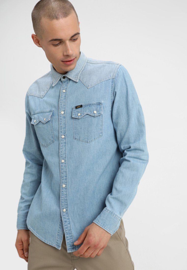 Lee - RIDER - Shirt - light blue