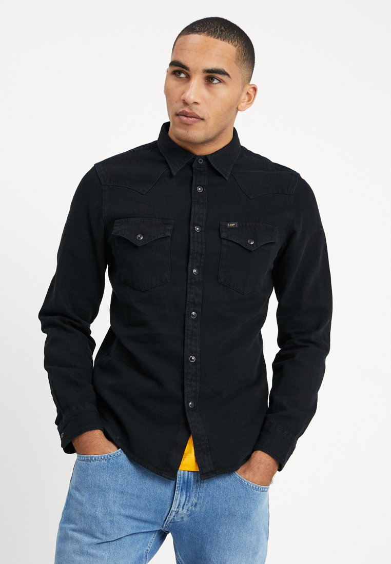 Lee - WESTERN - Skjorter - black