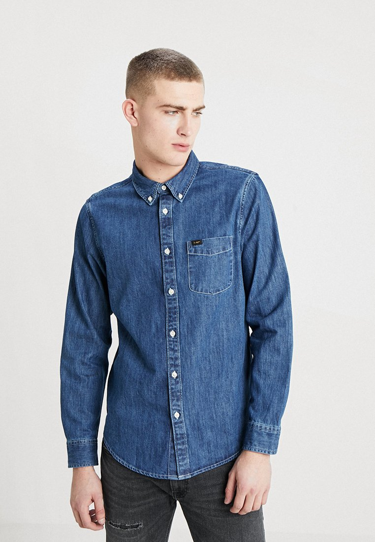 Lee - BUTTON DOWN REGULAR FIT - Camicia - dipped blue