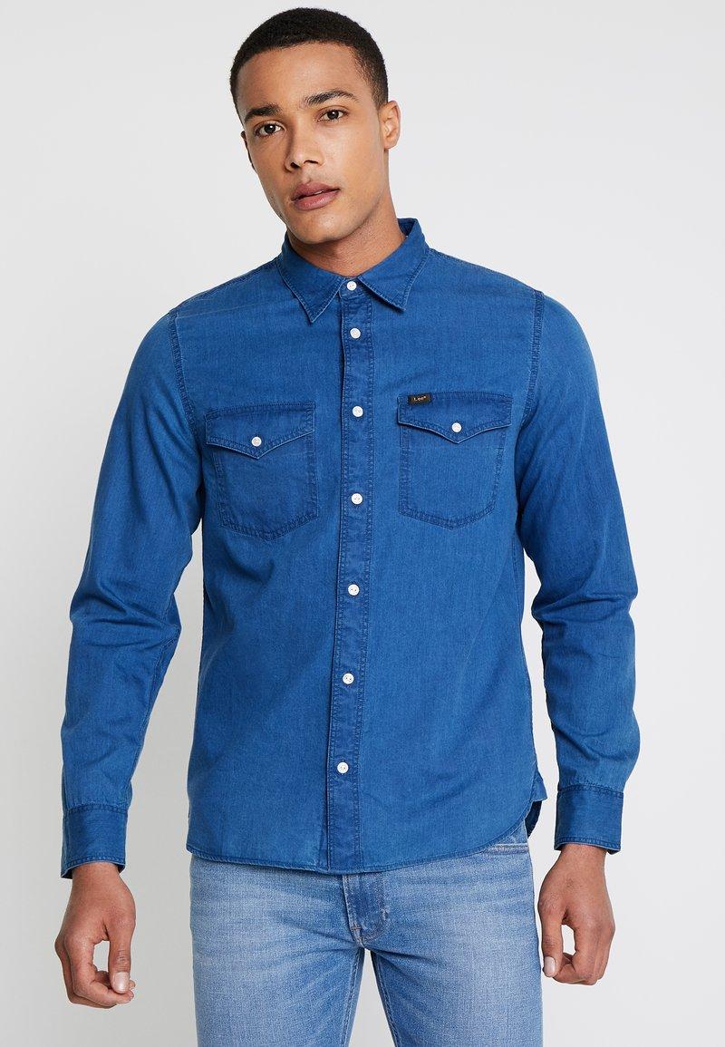 Lee - REG CLEAN WESTERN - Shirt - city blue