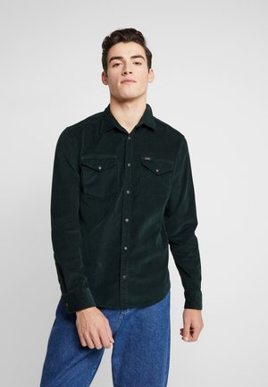 CLEAN WESTERN - Chemise - dark bottle green