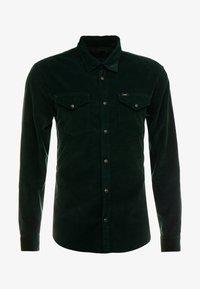 Lee - CLEAN WESTERN - Skjorta - dark bottle green - 3
