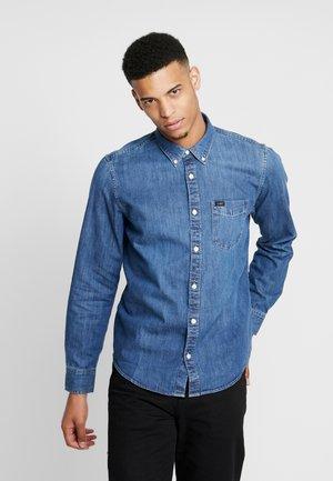 BUTTON DOWN - Shirt - oil blue