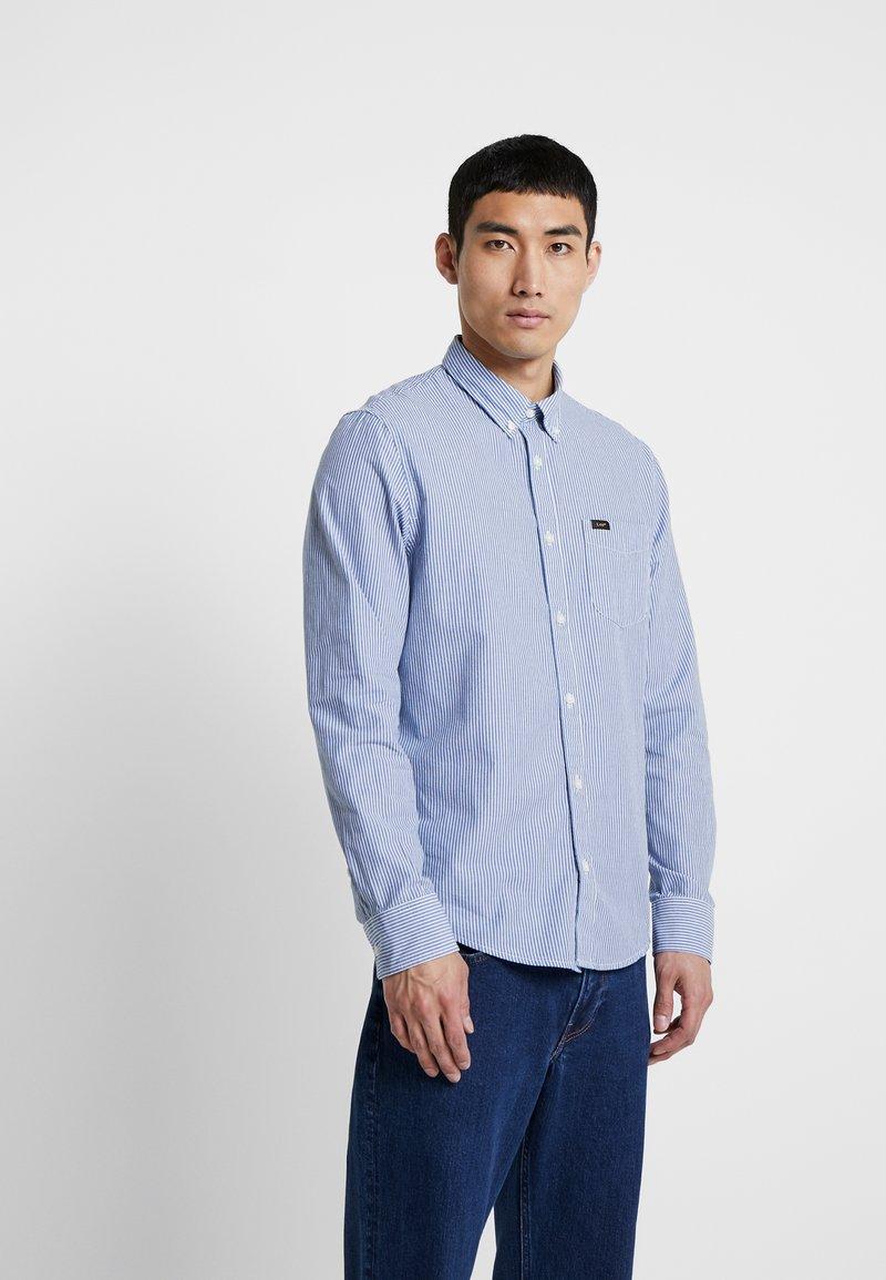 Lee - BUTTON DOWN - Shirt - oil blue