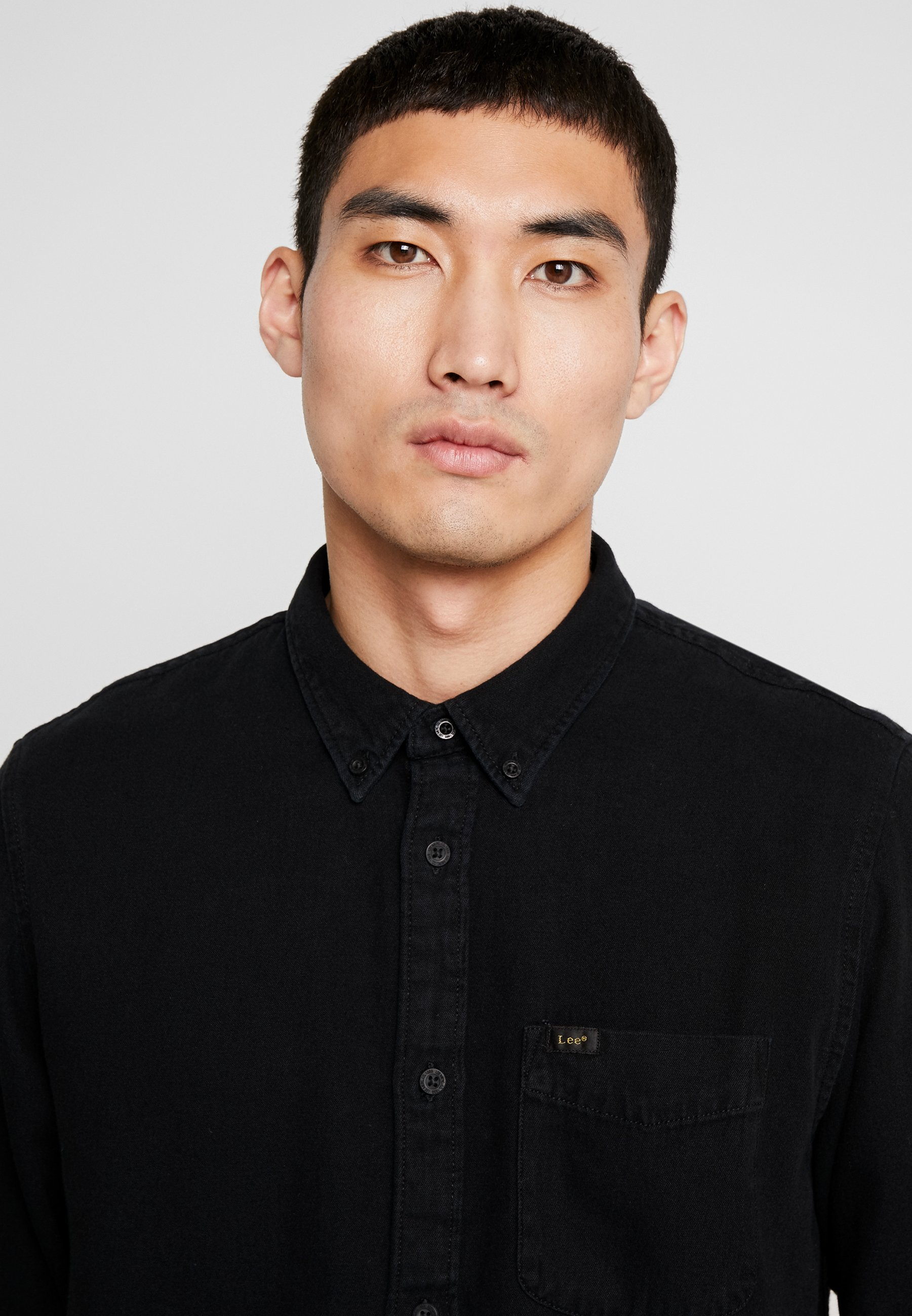 Lee Button Down - Skjorter Black