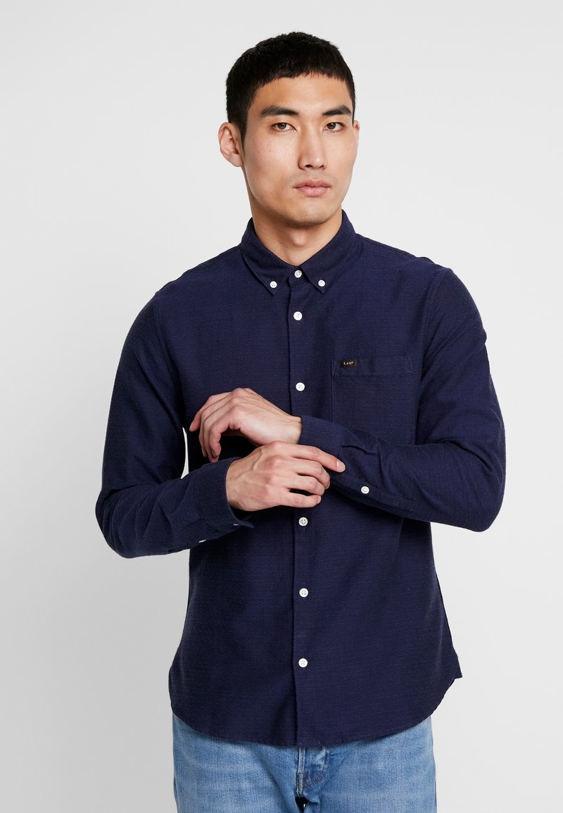 Lee - REFINED SLIM FIT - Košile - midnight navy