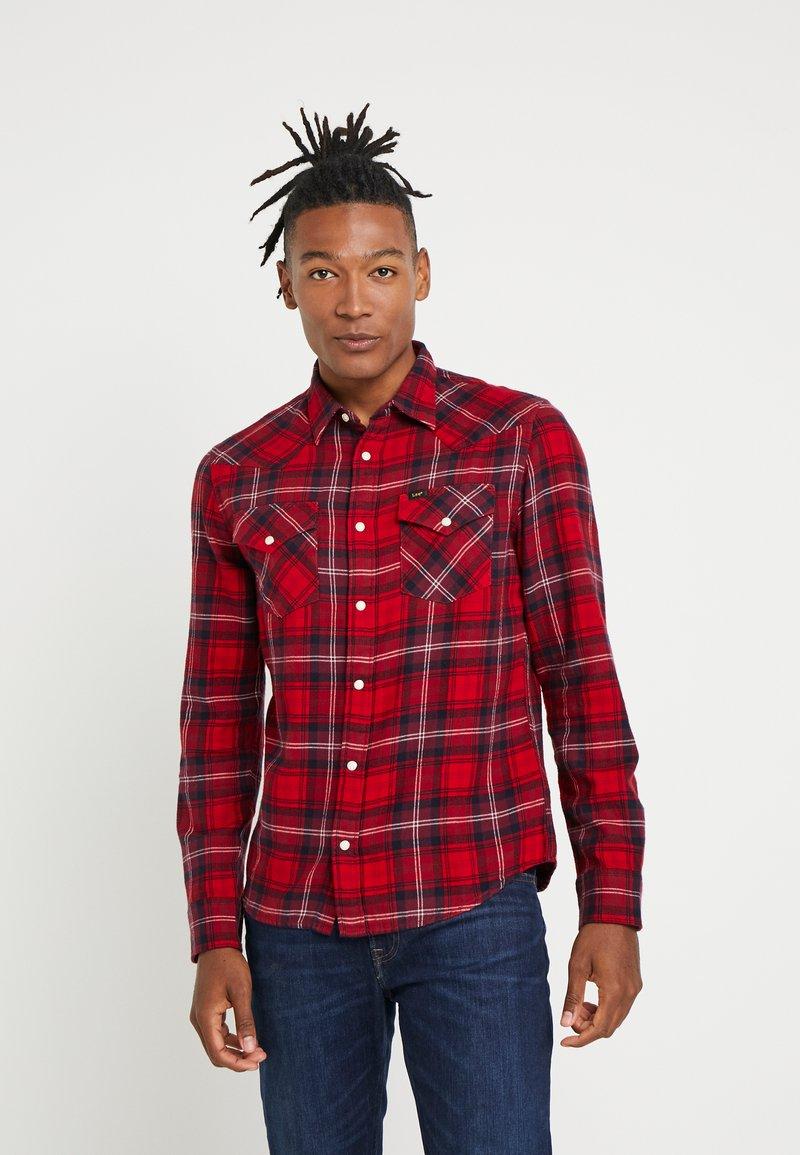 Lee - WESTERN - Shirt - warp red