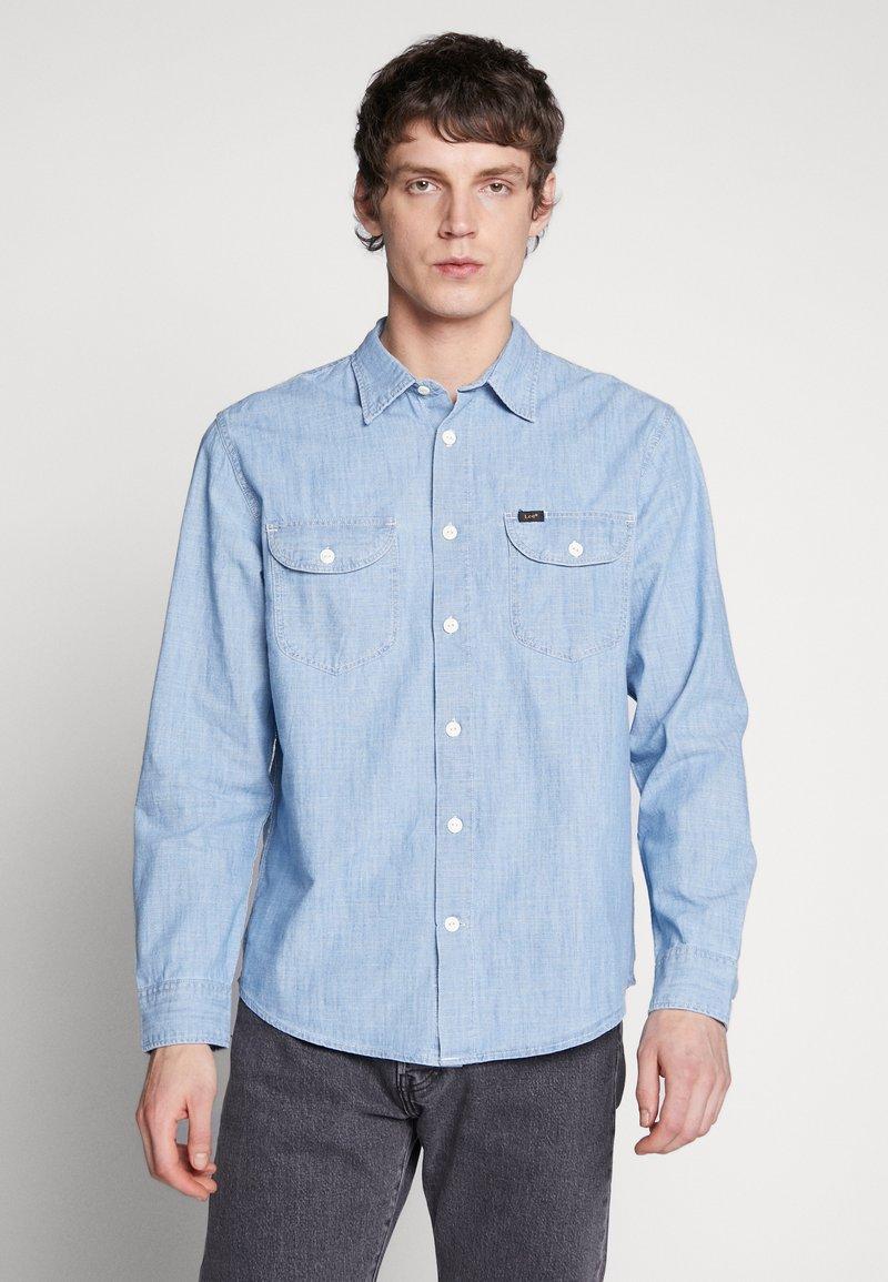 Lee - WORKERSHIRT - Košile - summer blue