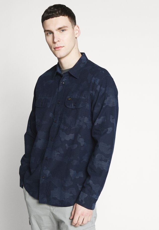 WORKERSHIRT - Košile - washed blue