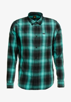 BUTTON DOWN REGULAR FIT - Shirt - agate green