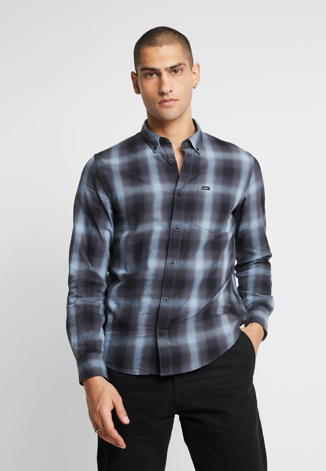 BUTTON DOWN REGULAR FIT - Shirt - ashley blue
