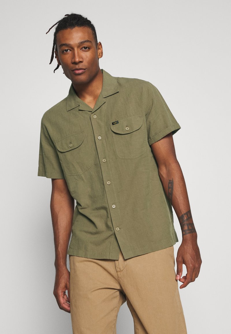 Lee - WORKER - Camicia - utility green