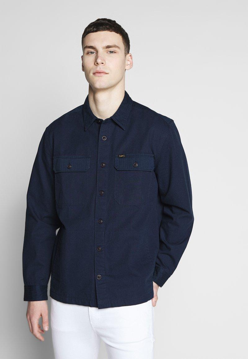 Lee - OVERSHIRT - Shirt - navy