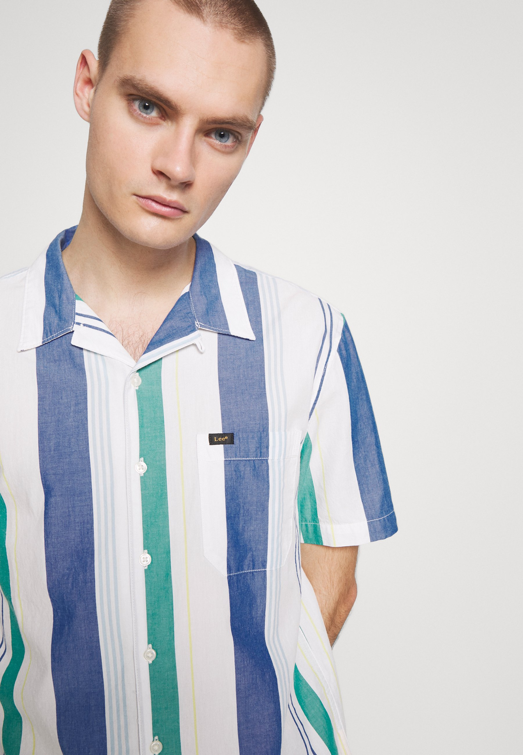 Lee RESORT SHIRT - Skjorter - summer blue